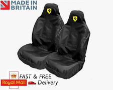 Ferrari cubiertas de asiento de coche protectores Deportes Cubo de peso pesado - 458 Speciale