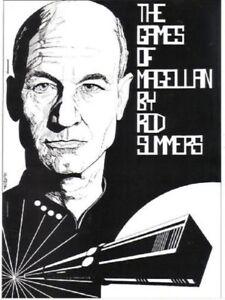 """Star Trek TNG Fanzine """"The Games of Magellan"""" GEN Novel"""