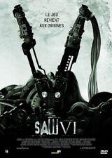 Saw VI 6 DVD NEUF SOUS BLISTER