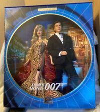 James Bond 007 Ken and Barbie Dolls Gift Set 2002 New