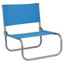 Portable Folding Low Beach Chairs Coloured Garden Picnic Deck Pool Chair Outdoor
