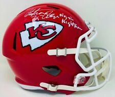 Kansas City Chiefs Christian Okoye Autographed Full Size Speed Rep JSA Authen...