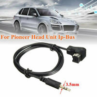 3.5mm Car Audio Input Cable Gold Plated AUX Adapter Interface For Pioneer MP3 CD