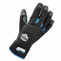 R3 Safety 17352 Proflex 817 Reinforced Thermal Utility Gloves, Black, Small, 1