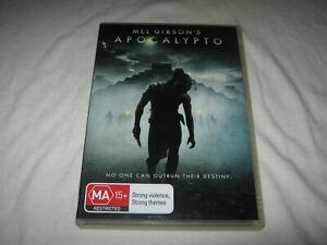 Apocalypto - Mel Gibson - VGC - DVD - R4