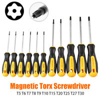 1PC Tamperproof TORX Magnetic Screwdriver Star Set T5-T30 Torx Drive NEW