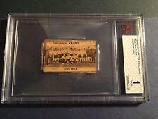 1934 Zaini Josef Bican rookie rc BGS 1 super rare