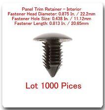 "1000 PC Panel Trim Retainer Head Dia .875 "" Hole 438 L: .813 Fits: Dodge 6503221"