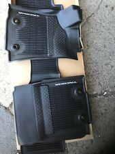 Genuine 2020 Toyota Tacoma All Weather Floor Mats Brand New In Box Genuine Parts