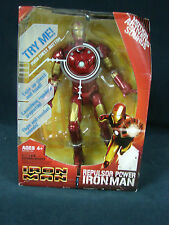 Hasbro Marvel Iron Man Repulsor Power  Motion Activated Sounds  Figure 2008