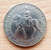1977 Elizabeth.II DG. REG FD Commemorative Vintage Medallion Coin Collectible