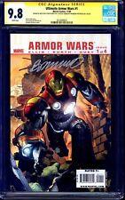 Ultimate Armor Wars #1 CGC SS 9.8 signed x2 Brandon Peterson Steve Kurth SKETCH