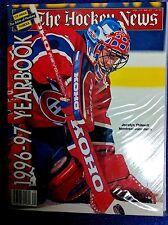 NHL MONTREAL CANADIENS THE HOCKEY NEWS 1996/97 YEARBOOK JOCELYN THIBAULT