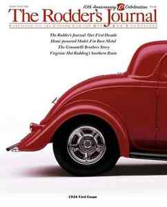 No. 28 Newsstand Cover B 1934 Ford Coupe RODDERS JOURNAL
