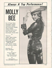 Molly Bee 1966 Ad- Always A Top Performer!/MGM