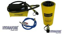Compressed Air Driven Pump With Single Acting Hollow Ram Cylinder 30tons 4