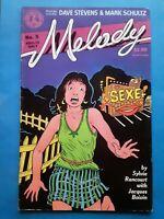 SCARCE Melody #5 1990 Kitchen Sink Comix Sylvie Rancourt Montreal Canada Strippe
