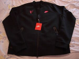 "NWT Nike Federer Premier ""RF"" Court Tennis Jacket 644780-010 NEW Nadal Large"