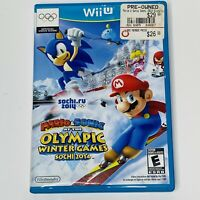 Mario & Sonic at the Winter Games Sochi 2014 Olympic Games Nintendo Wii U Game