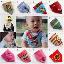 5 PCS Baby Kid Magic Stick Bandana Bibs Saliva Towel Dribble Triangle Head Scarf