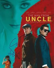 Guy Ritchie & Lionel Wilgram signed  Man From UNCLE 8x10 Photo - Sherlock