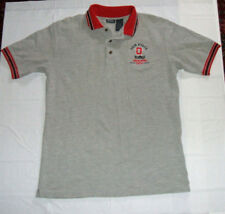 Ohio State Buckeyes 2004 Fiesta Bowl Gray Embroidered Medium-Tall Polo Shirt