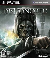 Used PS3 Dishonored PLAYSTATION 3 SONY JAPAN JAPANESE IMPORT