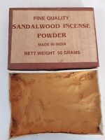 Sandalwood / Chandan Incense Powder 50 grams Fine Quality Pure and Natural