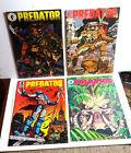 Predator First Series 4-Issue Comic Book Set- Dark Horse #1-4  UNREAD- FREE S&H
