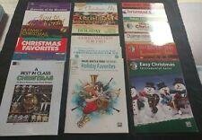 Clarinet Christmas Music Books - Lot Of 18