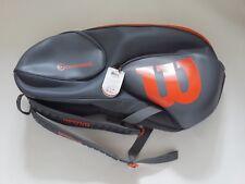 Wilson Vancouver Backpack Tennis Racket Bag Wrz844709 9Pack Grey Orange