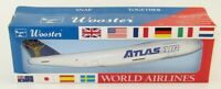 Atlas Air Boeing 747-200F 1/250 scale aircraft airplane desk model NEW Wooster