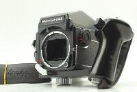 【MINT】 Mamiya M645 1000S Medium Format Camera Body + Prism Finder w/ Grip JAPAN