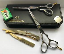 "6"" Professional Barber Hairdressing Thinning & Haircutting Scissor Convex Edge"