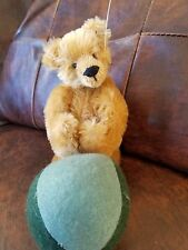 "High Quality Heavy Beaded Mohair- Head Jointed 8""sitting+3"" legs w Circus Ball"