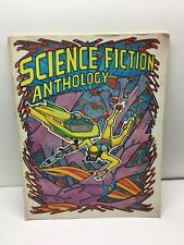 Science Fiction Anthology Adult Coloring and Story Book 1974 Troubador Press