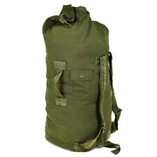 Genuine US Army Duffel Bag Large Military Olive Green Sack Canvas sea sack pack
