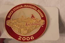 "BUSCH STADIUM PIN INAUGURAL 2006 SEASON ST LOUIS CARDINALS LIMITED EDITION 2"""
