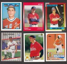 Robin Ventura Rookie Lot 1988 Topps 89 Fleer Debut Classic 90 UD Leaf White Sox