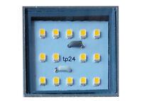 tp24 3.5W replaces tp5411 G40 LED bulbs warm white 300 lumens square