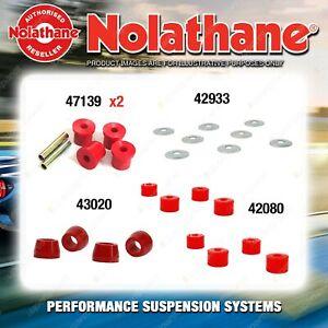Rear Nolathane Suspension Bush Kit for NISSAN 260C H330 6CYL 1973-1979