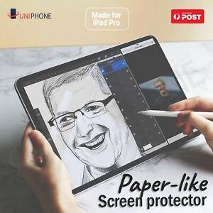 """Paper-Like Screen Protector PET iPad Air 4 Pro 2020 2018 8 10.9"""" 12.9 11 10.5"""