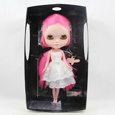 """12"""" Jecci 5 Blythe Doll'S Sister With 4 pair eyes / Dress /Shoes/Stand Base"""