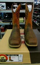 "RED WING Irish Setter Marshall 11"" Brown Leather Safety Toe Boot 83910 Men 8 D"