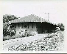 6C668  RP 1965 DL&W LACKAWANNA RAILROAD TRAIN STATION NICHOLS NY