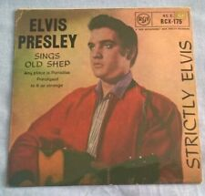 ELVIS PRESLEY, STRICTLY ELVIS, 1959 ORANGE LABEL RCA REISSUE1969 EP, EX.