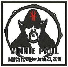 BIG 10x13 FRAMED VINNIE PAUL ABBOTT 1964-2018 DEATH TRIBUTE PROMO AD PANTERA