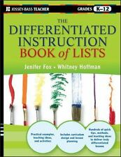 The Differentiated Instruction Book of Lists 6 by Jenifer Fox and Whitney...