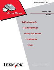 Lexmark C925 5041-030 Printer Service Manual(Parts & Diagrams)