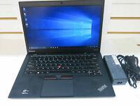 "Lenovo ThinkPad X1 Carbon 1st Gen 14"" Laptop i5-3427U 1.8GHz 128GB SSD 4GB  ""A"""